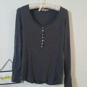 Victoria's Secret sleep top with glittery buttons